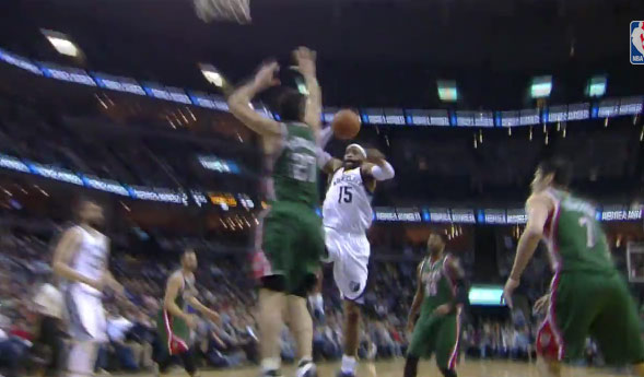 We Thought Vince Carter Was Going To Posterize Zaza, Then Realized Vinsanity Was 38