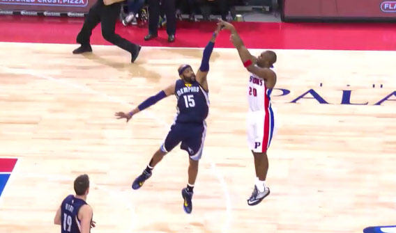 Jodie Meeks With the Big 4-Point Play On Vince Carter