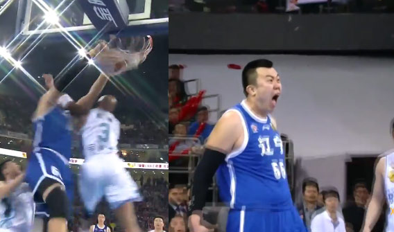 Stephon Marbury Scores 36 in GM4 of CBA Finals, Gets Posterized by the Chinese Shaq