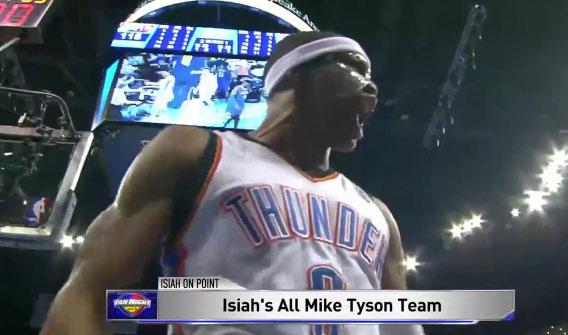 Isiah Thomas' All Mike Tyson Team