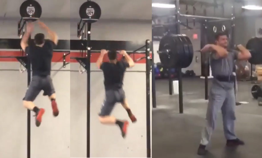 Workout: Former NCAA Dunk Champ Jacob Tucker Shows Off His Hops & Strength
