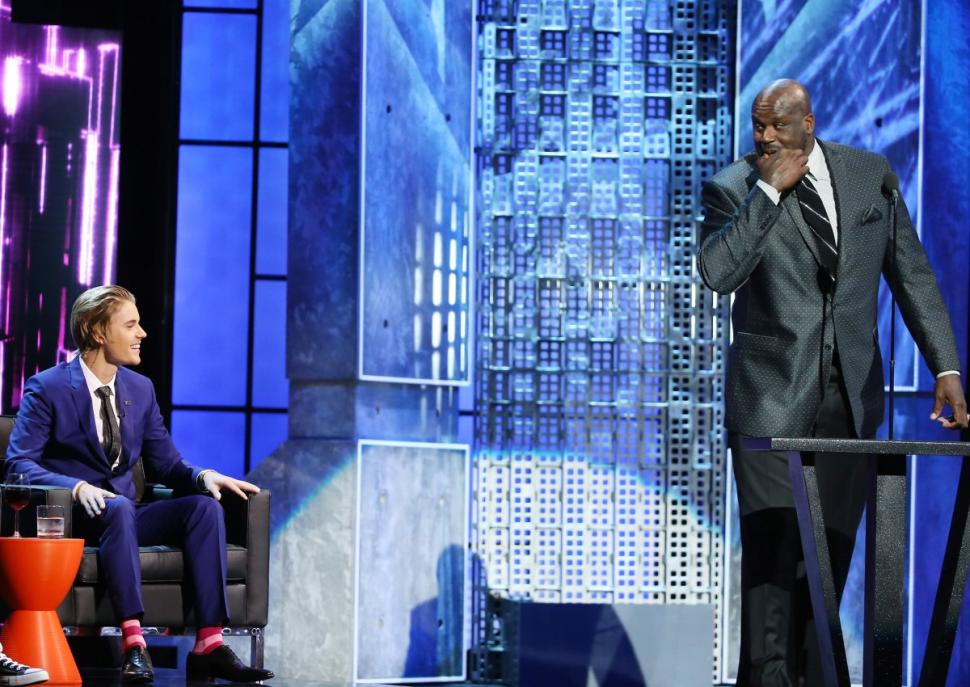 Shaq's Best Jokes From The Justin Bieber Roast (cracks jokes about the Lakers & Chris Paul)