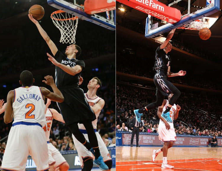 Zach LaVine Scores 20 Points, Clutch in OT Win Over the Knicks