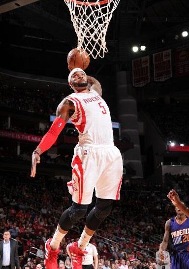 Josh Smith takes flight against the Suns