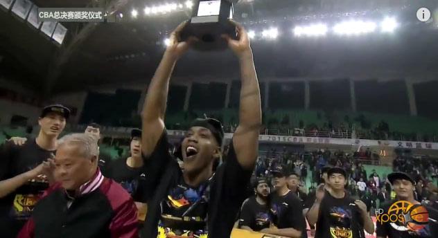 Stephon Marbury Wins 3rd CBA Championship, named Finals MVP
