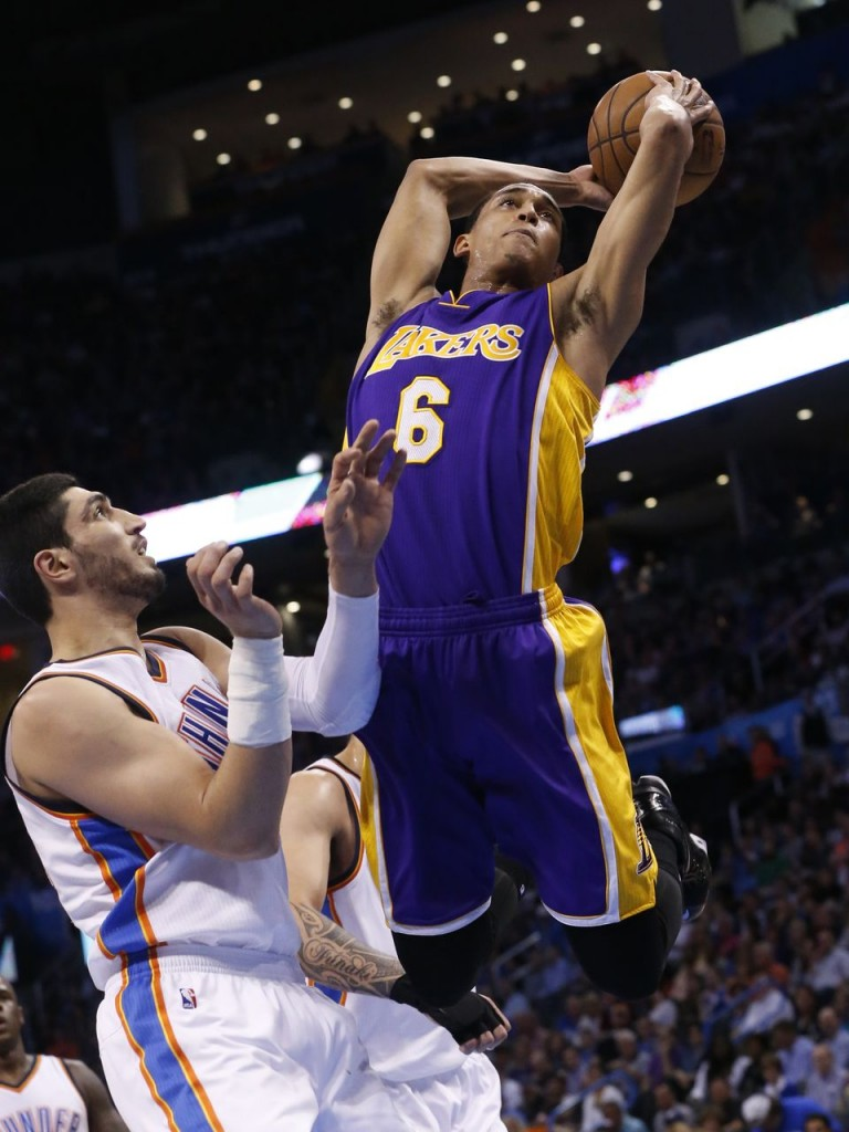 The First Asian-American Starting Backcourt of Lin & Clarkson Combine for 49 points & 14 assists vs OKC