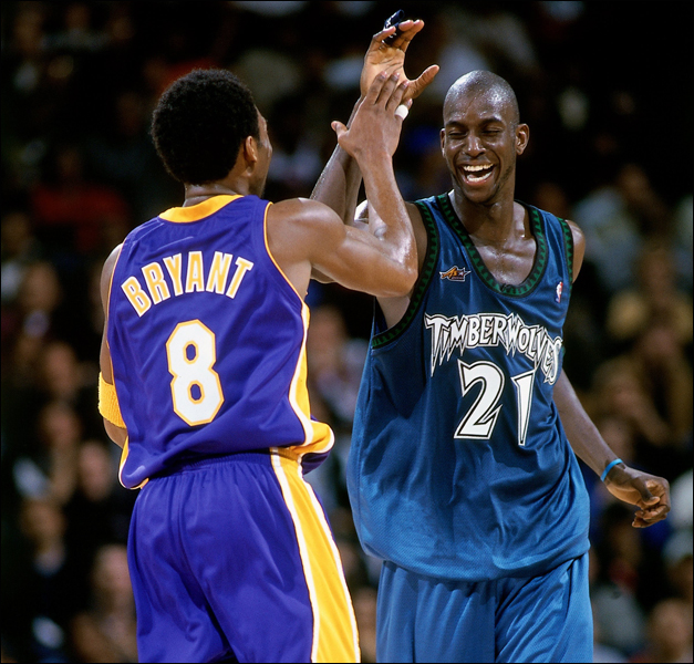 "The Timberwolves Considered Drafting Kobe to Team Him Up With Kevin Garnett But Thought ""it would be too much"""