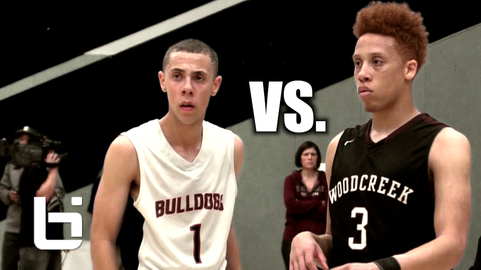 The Point Guard Duel Of The Season, Jordan Ford VS Noah Blackwell!!! Ballislife Mixtape