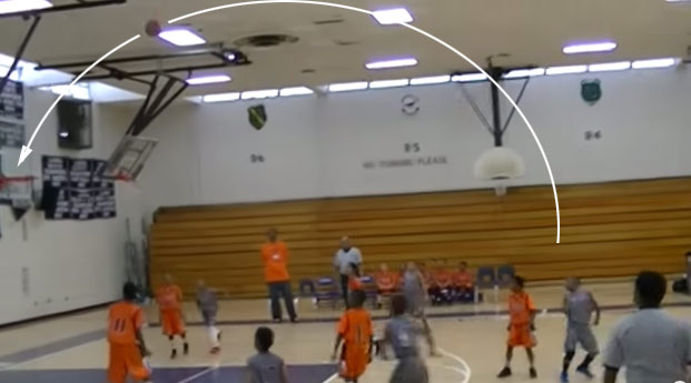 3rd Grader Makes a Backwards, No-Look 3-Pointer at the Buzzer in a Championship Game!