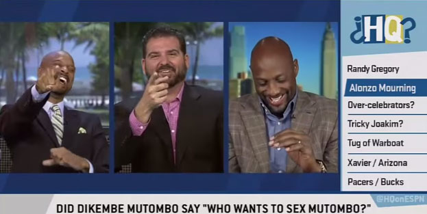 "Alonzo Mourning Confirms ""Who Wants To Sex Mutombo"" Story"