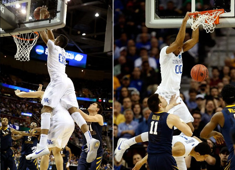 Kentucky Got So Bored With West Virginia, They Started Dunking On Each Other