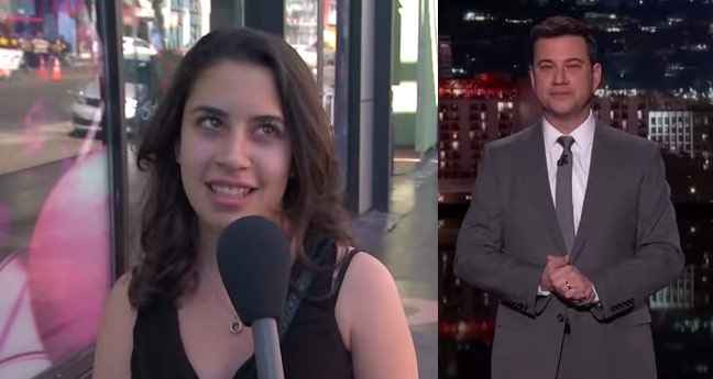 Jimmy Kimmel Bust Lying Hoop Fans About Their March Madness Knowledge