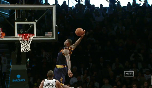Better Highlight: LeBron's Chasedown Block on JJ or His Oop Dunk From Love