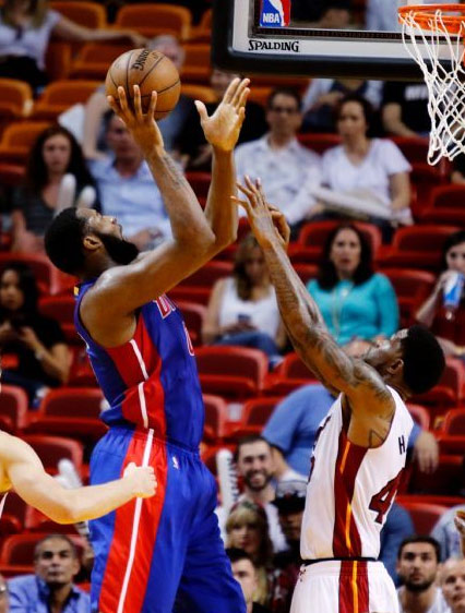 Andre Drummond career-high 32 points & 14 rebounds vs Heat