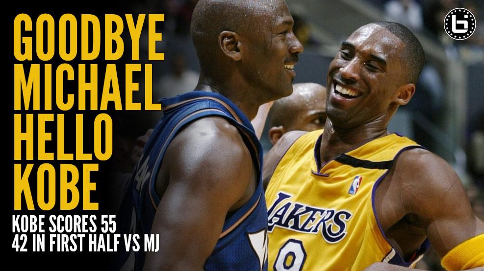 2003 | Kobe scores 55 (42 in the 1st half) vs Jordan & the Wizards