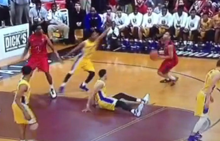 Ben Simmons Gets His Ankles Broke, Later Makes A Sick Behind The Back Pass