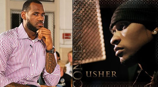 """LeBron's High School Teammate Compares """"The Decision"""" to Usher's album """"Confessions"""""""