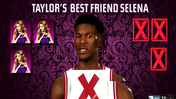 """Taylor Swift Fan Jimmy Butler Plays A Game of """"Taylor or Failure?"""""""