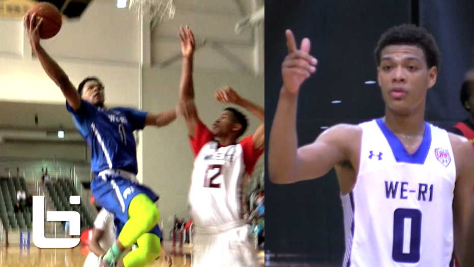 HS Sophomores Trevon Duval & Quade Green Make A DEADLY Backcourt!!! Under Armour Association Highlights
