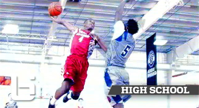 Top Ranked PG Dennis Smith Jr. SHOWS OUT At Adidas Gauntlet Dallas!