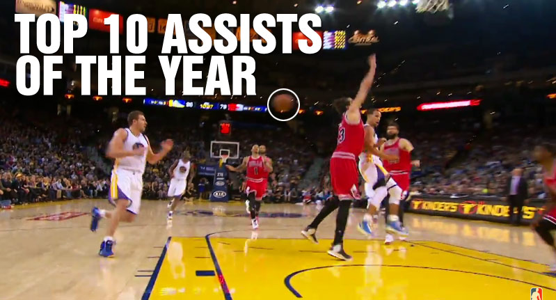 Steph Curry dominates the Top 15 Assists of the Year (14/15), LeBron Gets Snubbed