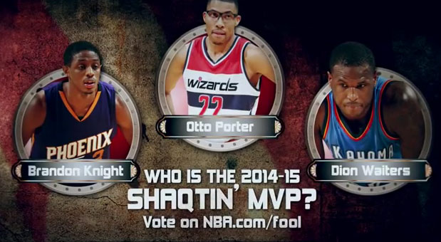 Who is the 2014/15 Shaqtin' A Fool MVP: Knight, Porter, Waiters?