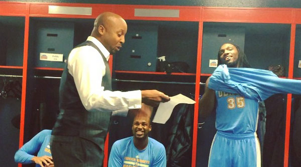 21 Years After His Rap Debut, Brian Shaw Rapped a Pregame Scouting Report With The Nuggets