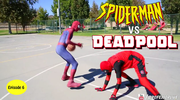 Spider-Man Basketball Ep 6: Spidey vs Deadpool!