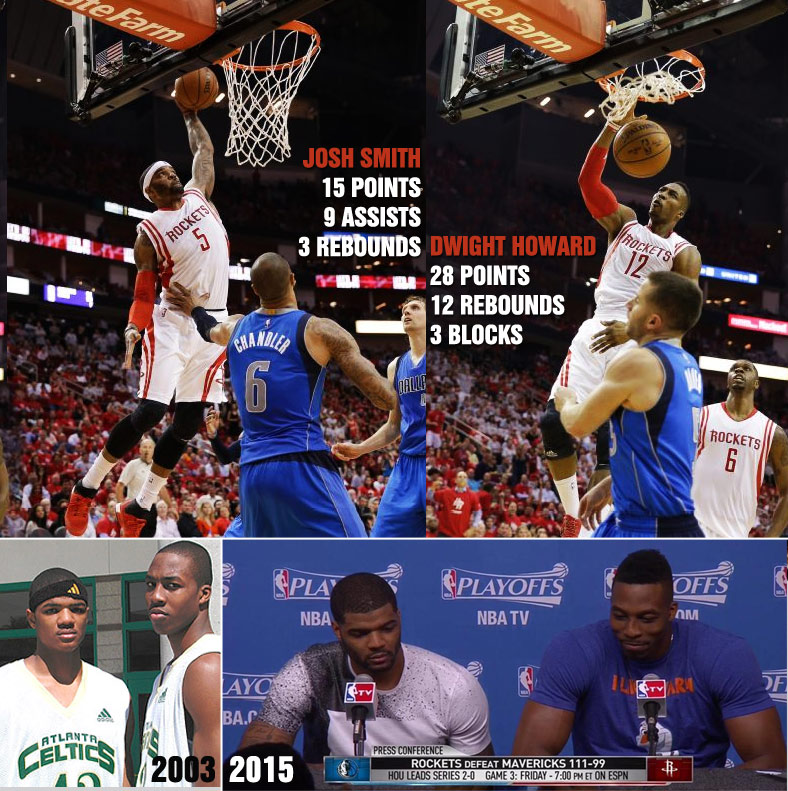 Dwight Howard & Josh Smith Took It Back To Their AAU Days