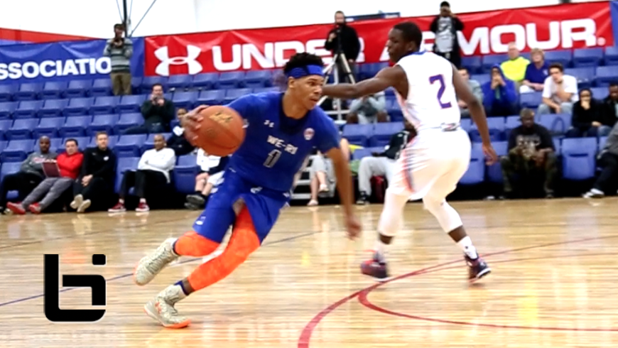Athletic Soph Point Guard, Trevon Duval IS BLOWING UP!!! UA Association Mixtape