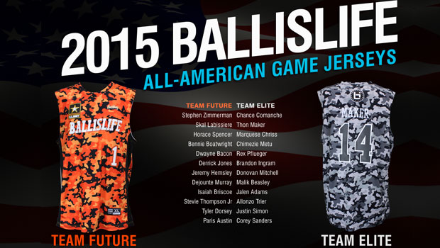 2015 Ballislife All-American Jerseys Revealed!
