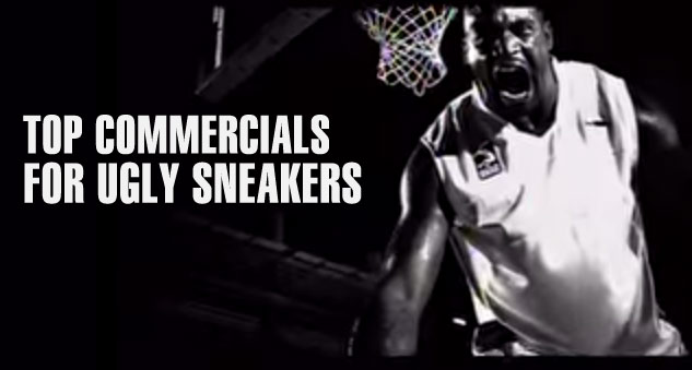 Commercials For 10 Of The Ugliest Sneakers Ever