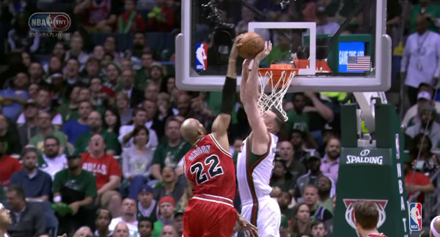 Miles Plumlee s Emphatic Denial on Taj Gibson   YouTube
