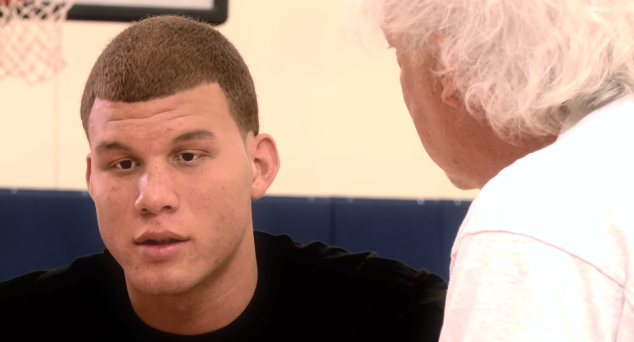 "Blake Griffin ""Why did I have to be half white. Why can't I be guaranteed to be in the NBA"""