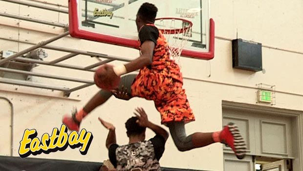 Derrick Jones SHUTS DOWN Ballislife AA Dunk Contest Presented by EASTBAY!!