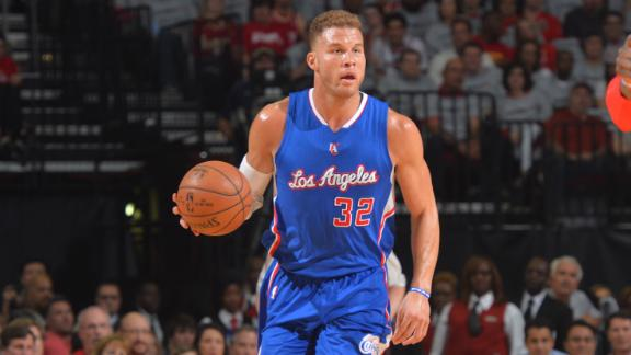 "Blake Griffin Posts a ""Man Triple Double"" with 26pts, 14rebs & 13asts in GM1 vs the Rockets"