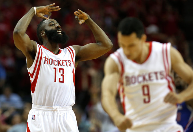 James Harden Scores 16 of his 32 points in 4th Quarter, Rockets Win GM2