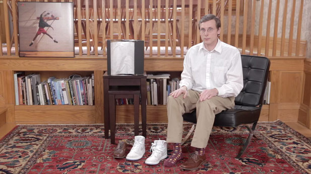 The World's Greatest Sneaker Reviewer is Back & This Time With a Shoe Horn | Air Jordan Retro 1 Laser