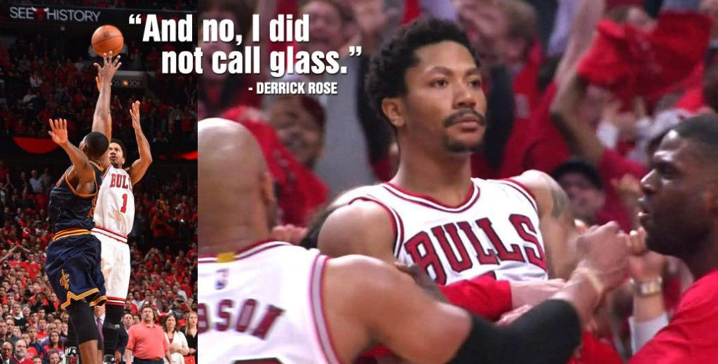 Rose, NBA Players & the Internet React to Derrick Rose's Game-Winning 3 in GM3