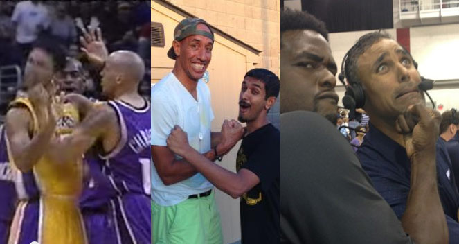Remembering When Doug Christie Gave Rick Fox an Uppercut Punch