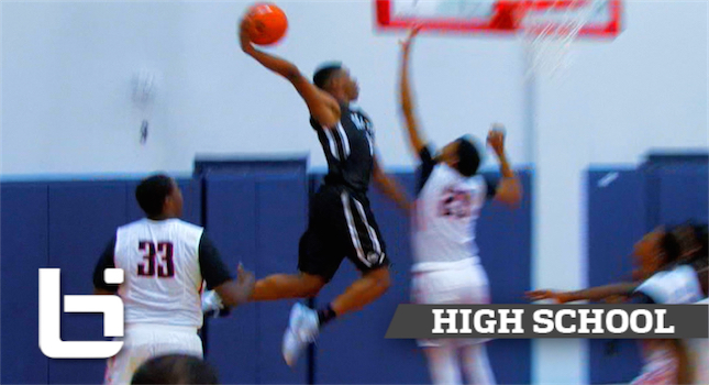Don't Jump With Dennis Smith! Crazy Dunk at Nike EYBL Houston!