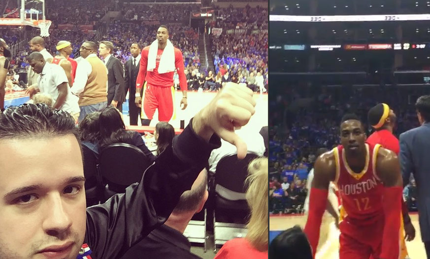 Dwight Howard Threatens Heckling Fan Before GM4, Later Gets Ejected