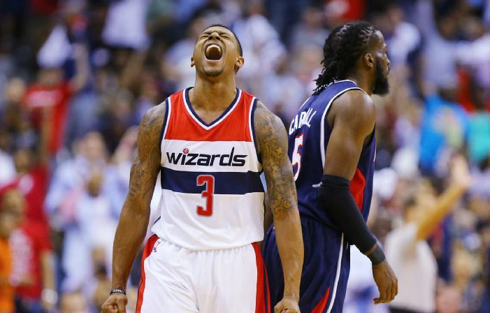 Bradley Beal Scores Career Playoff-High 34 points in GM4
