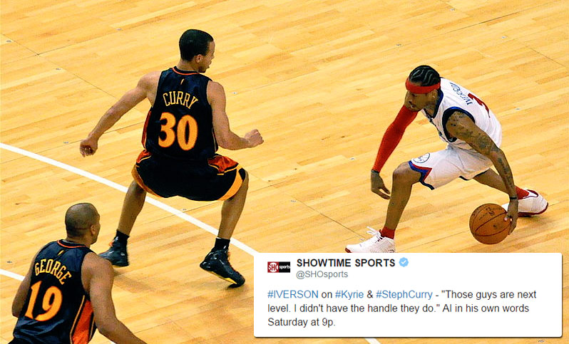 Did Allen Iverson Really Say Steph Curry & Kyrie Irving Had Better Handles Than Him?