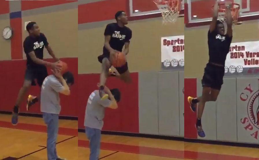 Texas Tech Signee Jordan Jackson Showing Off His Hops