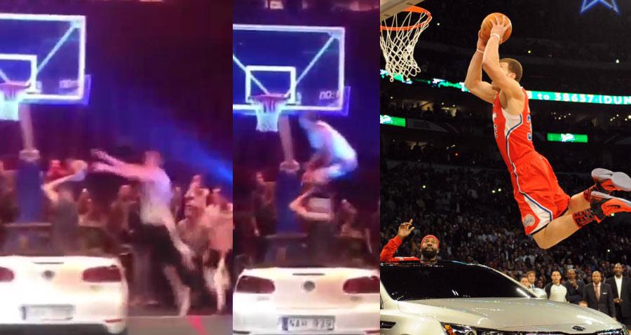Jordan Kilganon's Insane Over a Car Dunk Reminds Us How Lame Blake Griffin's Dunk Was