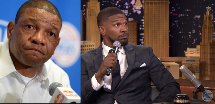 Jamie Foxx Does a Hilarious Doc Rivers Impersonation on Jimmy Fallon