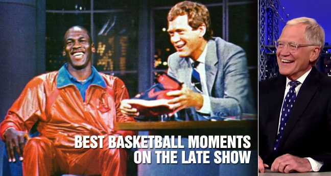David Letterman's Best Basketball Moments & Interviews on the Late Show