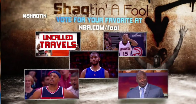 Shaqtin' a Fool – 2nd Round Playoffs Edition with lots of uncalled travels