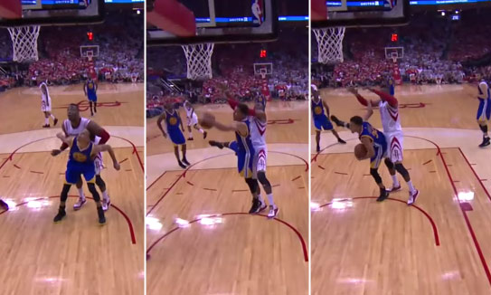 Steph Curry Boxed Out Dwight Howard & Grabbed A 1-Handed Offensive Rebound!